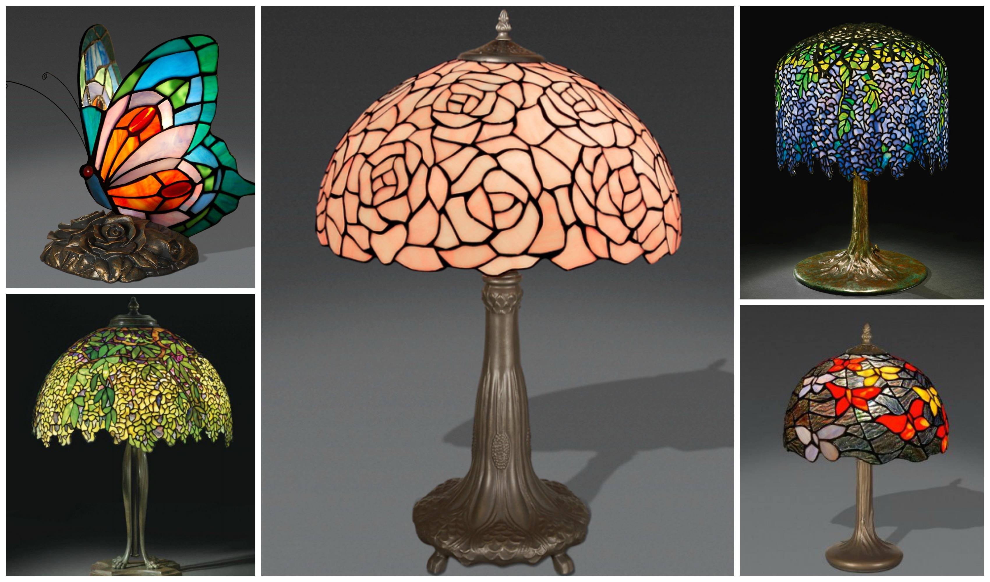 Le lampade Tiffany, dal 1900 ad oggi
