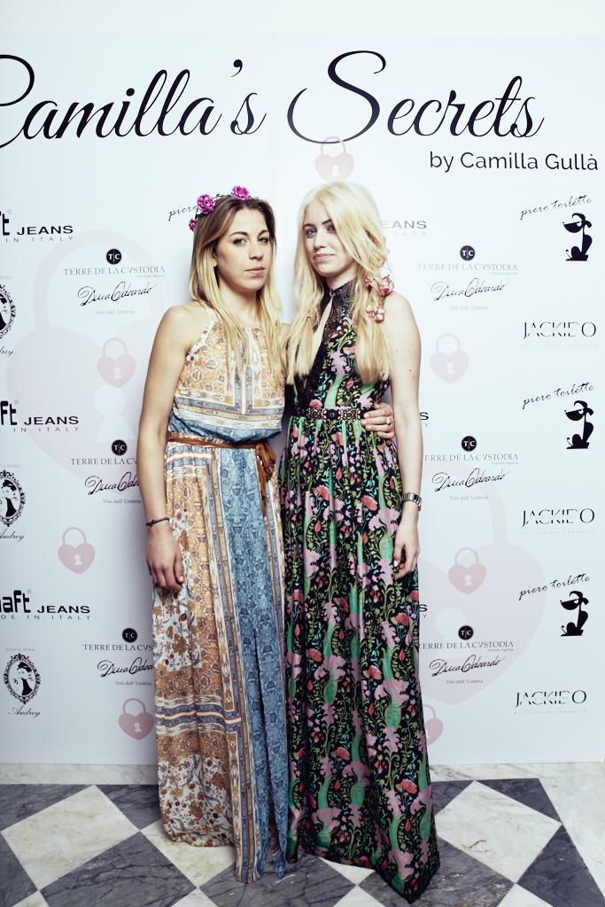 Camilla's Secrets party