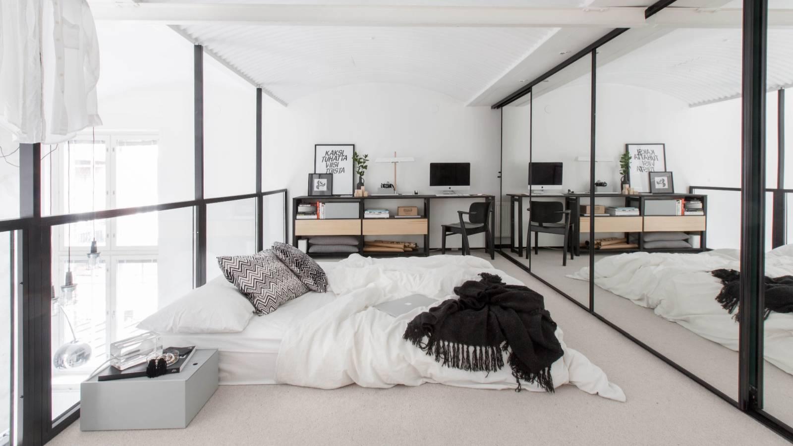 Bedroom-in-the-Scandinavian-style