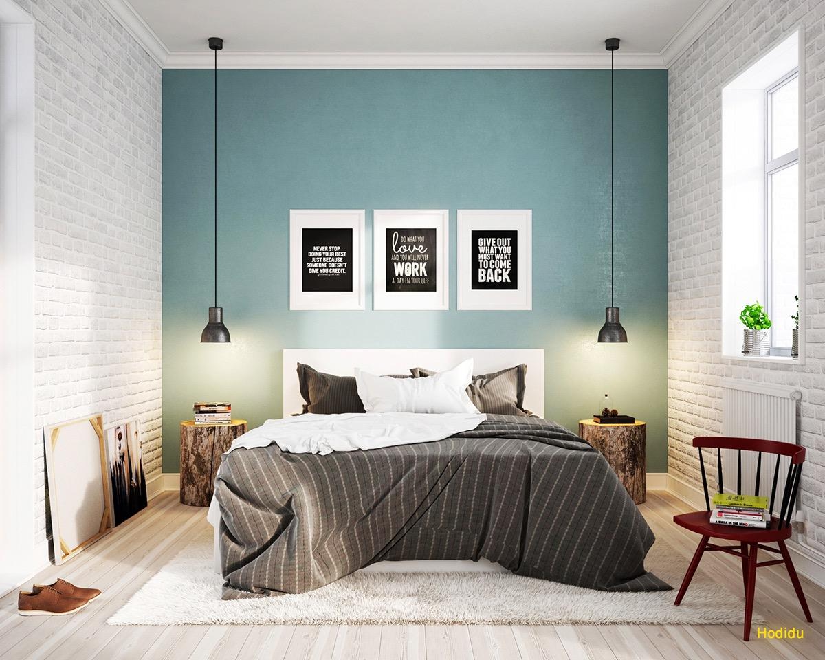 light-blue-scandinavian-bedroom-design